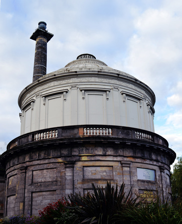 pioneering: Perth waterworks, Scotland,  built in 1832 by Adam Anderson, one of the worlds earliest cast iron buildings, now house the paintings and sculpture of J D Fergusson, Scottish Colourist and the artwork of his wife, pioneering choreographer, Margaret Morris
