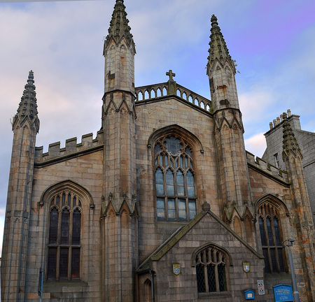 episcopal: Episcopal cathedral Aberdeen, Scotland: mother church of Anglican Communion in USA
