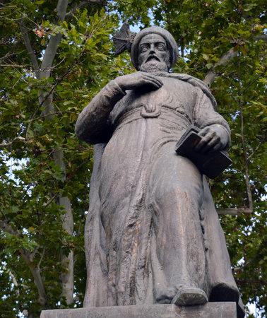 constantin: Statue of Constantin Brancoveanu, Bucharest, Romania