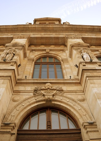 BUCHAREST, ROMANIA - 7 FEBRUARY 2016: The Bucharest Court of Appeal ihears appeals in cases first heard in other courts in Bucharest and in five surrpounding counties. Editorial