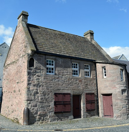 sir walter scott: The 15th Century building in North Port, Perth, known as the Fair Maid�s House got its name from the Sir Walter Scott novel where it was the home of Catherine Glover. Editorial