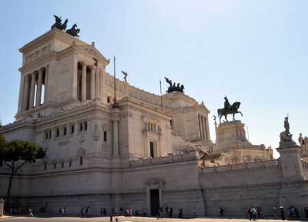 Monument to King Vittorio Emanuele II, Rome, Italy