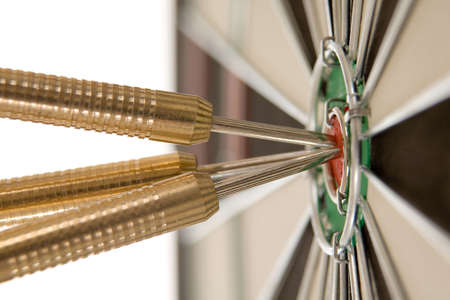 Bullseye - conceptual  Stock Photo