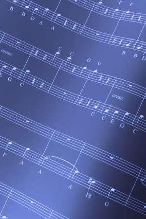 hymn: Musical score