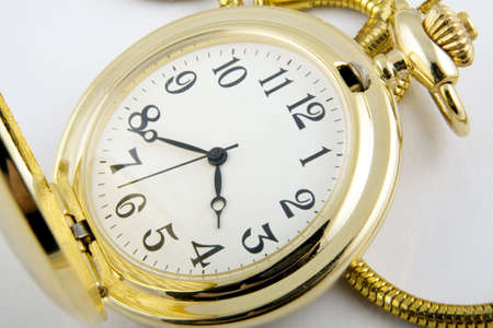 collectable: glod watch Stock Photo