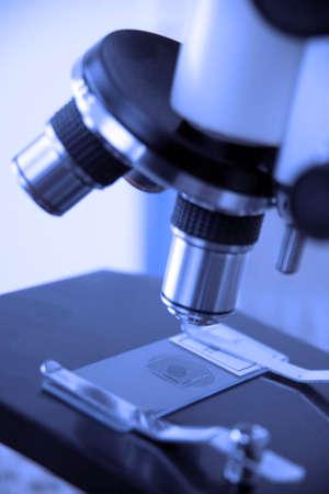 A microscope Stock Photo