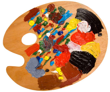 A painters pallette
