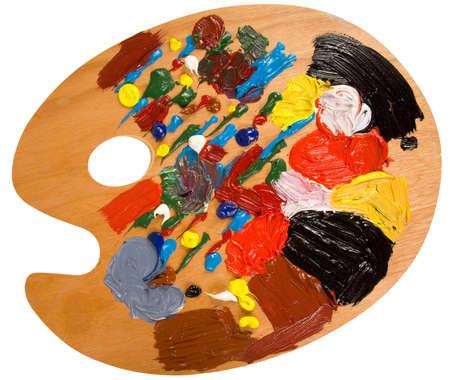 pallette: Une palette de peintres