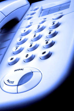 abstract Telephone Stock Photo