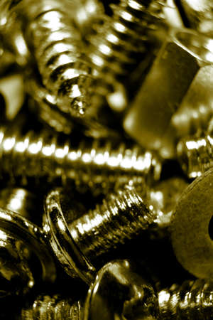 Screws and bolts photo