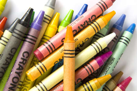 Crayons Stock Photo
