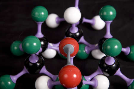 molecular model Stock Photo - 2317484