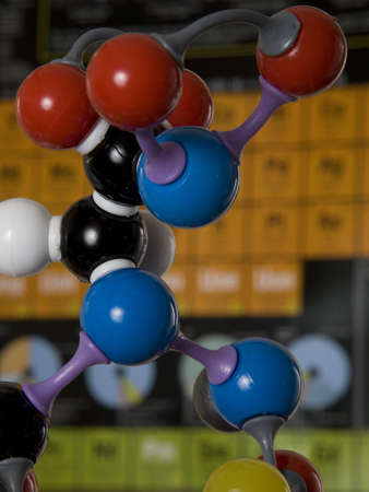 molecular model Stock Photo - 2317499