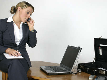 casual office worker Stock Photo - 2582950