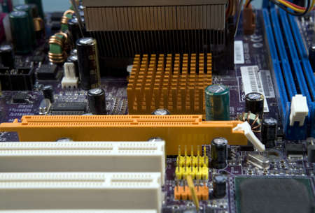 close up of electronic board Stock Photo - 2317494