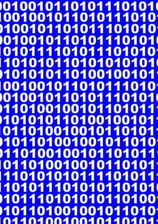 bytes: binary background Stock Photo