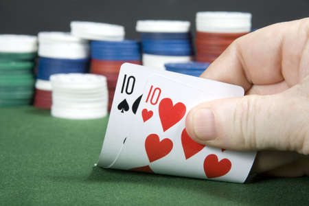 10s: Pair of 10s at poker