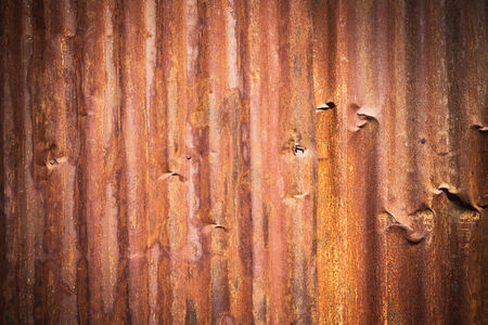 galvanized: Abstract generated rust metal surface