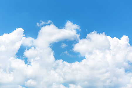 nimbi: Sky daylight. Natural sky composition Stock Photo