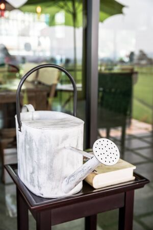 vintage style watering can photo