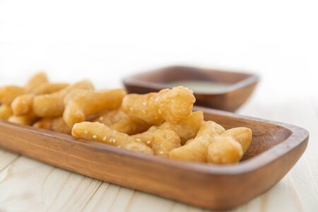 patongkoh: Deep-fried doughstick, Snack and Dessert, Chinese deep fried dough Stock Photo