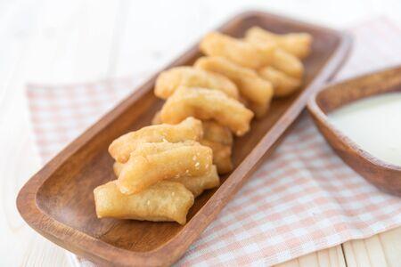 patongkoh: Deep-fried doughstick, Snack and Dessert, Chinese deep fried dough Stock Photo