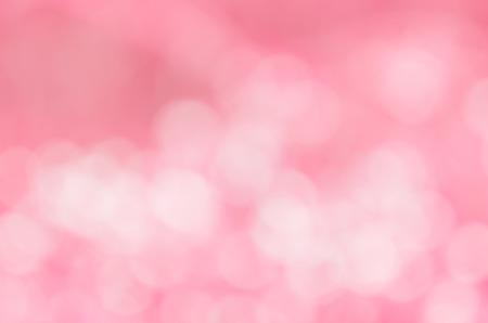 pink bokeh abstract light backgrounds, Pink Bokeh Background Banco de Imagens