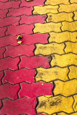 cobblestone: background texture of cobblestone road, brick sidewalk