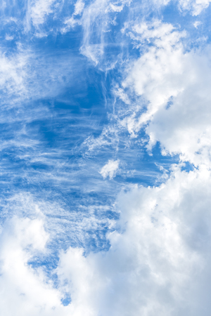 blue sky: The vast blue sky and clouds sky, Blue sky with clouds