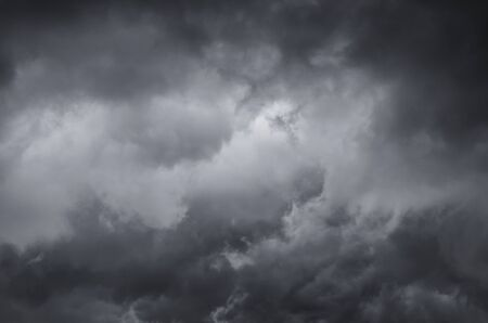 Dramatic sky before storm - cloudscape