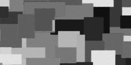 geometric grey color block pattern background - oil painting on canvas - illustration graphic design : digital art