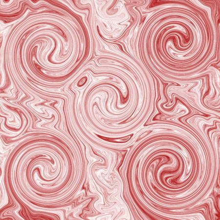 creative liquid marble swirl texture pink background Banco de Imagens
