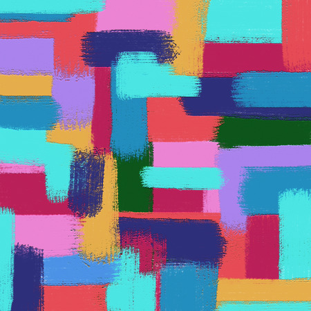 graphic texture of oil color paint abstract background, brush stroked painting : digital art