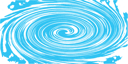 abstract beautiful blue swirling texture background : painting on canvas with copy space : digital art