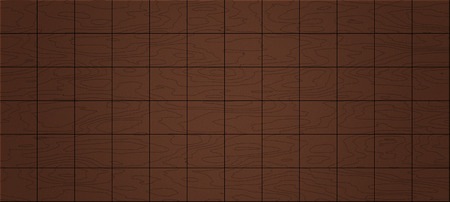 panoramic of seamless plywood blocks square or floor texture background - natural surface Banco de Imagens