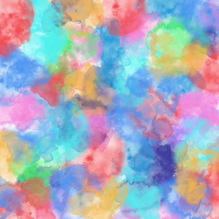 illustration image of pastel colorful watercolor high resolution digital graphic