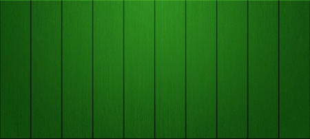 panoramic planks of green wood wall texture for background - concept interior and exterior decoration