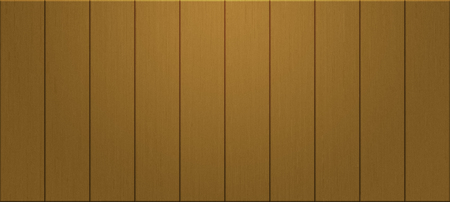 panoramic planks of yellow wood wall texture for background - concept interior and exterior decoration Banco de Imagens