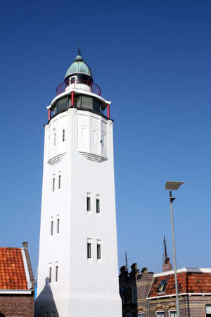 The lighthouse in Harlingen in the Netherlands Stock Photo - 10844497