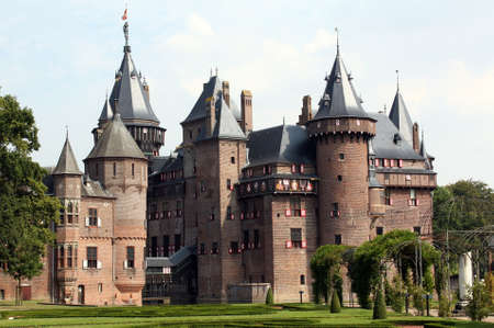 Castle de Haar from the 20th century in Haarzuilen  The Netherlands
