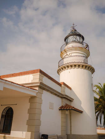 Calella Lighthouse is active lighthouse situated in coastal town of Calella in Costa del Maresme, Catalonia, Spain