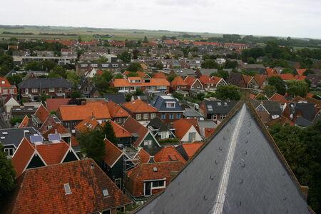 burg: Panoramic view Church, De Burg, Texel