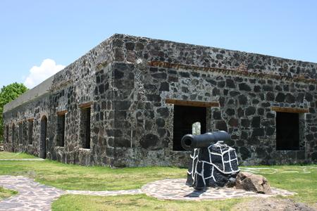 Fort San Basilio, Fuerte de la Contaduria 版權商用圖片