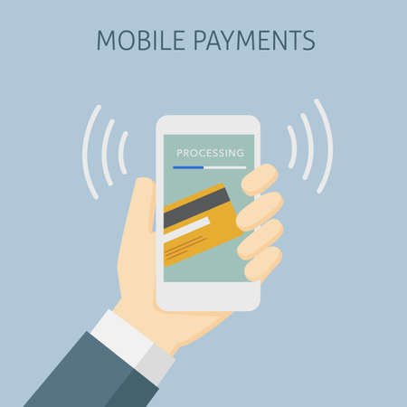 mobile payment: Contactless Payment with Mobile Phone, Mobile Payment Processing