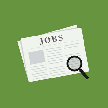 Search The Job on Newspaper