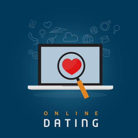 Find The True Love With Online Dating Abstract