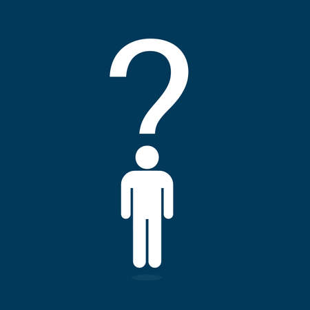 People Question icon Illustration