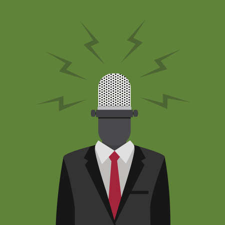 The Voice Of People Illustration