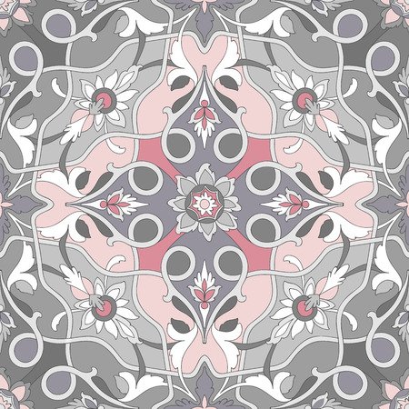 dramatic: Amazing seamless dramatic ornamental pattern of excellent quality and detail.  Illustration