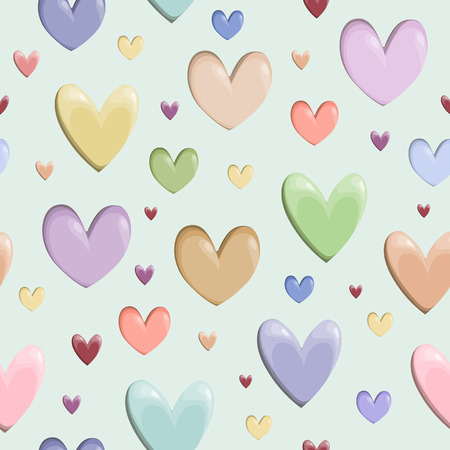 catchy: Valentine heart pattern